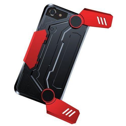 Baseus Gamer Gamepad Case iPhone 8/7 Czerwone, kolor czerwony