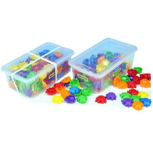 Puzzle klocki w boxie 120 elementów marki Wader