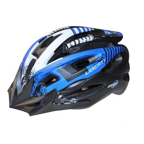Kask rowerowy liberty black (rozmiar xl) + darmowy transport! marki Axer bike