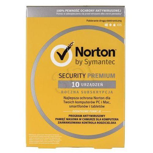Symantec Norton security premium 3.0 25gb pl 1 user 10 devices 12mo card mm (5397039339603)