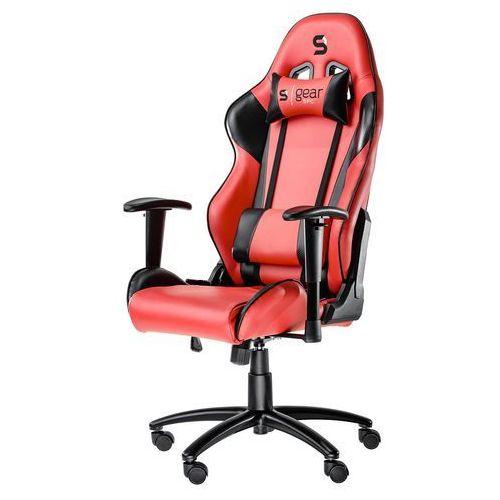 Fotel dla gracza gear sr300 (czerwony) marki Silentiumpc