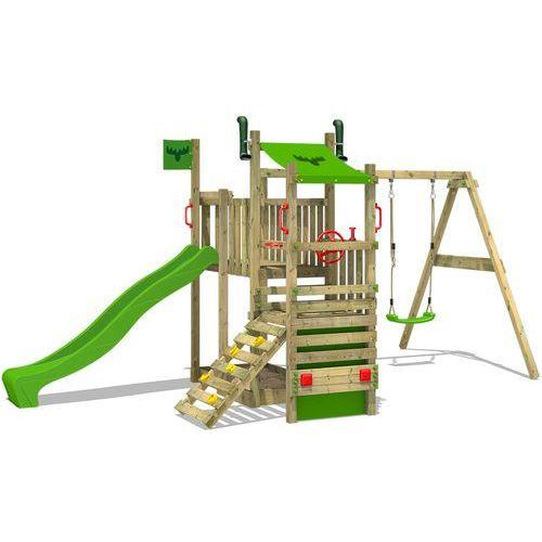Plac zabaw ciężarówka z huśtawką drewnianą, zabawki (4250533912189). Najniższe ceny, najlepsze promocje w sklepach, opinie.