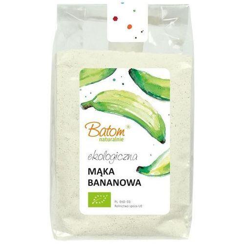 Mąka bananowa, z bananów warzywnych bio 250 g batom marki Batom (dżemy, soki, kompoty, czystek)
