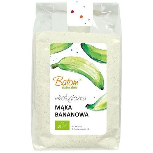 Mąka Bananowa, z Bananów Warzywnych BIO 250 g Batom