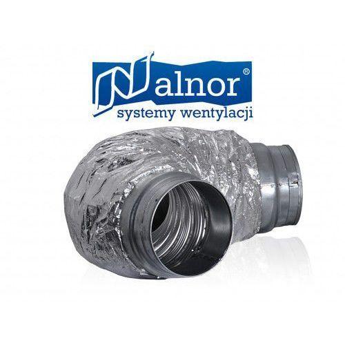 Tłumik elastyczny akustyczny 80mm z izolacją 25mm (600mm) (SLEFL-25-080-600)