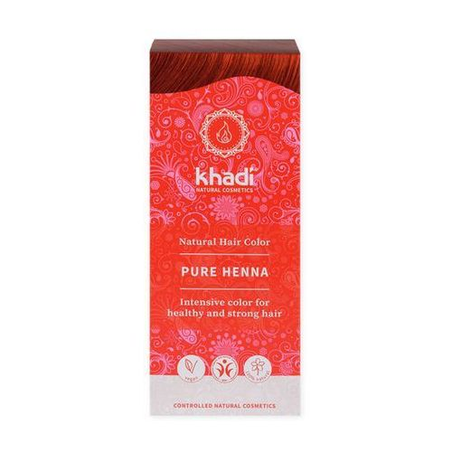 NI Khadi Ziołowa Farba do Włosów Naturalna Henna 100g (4260378040107)