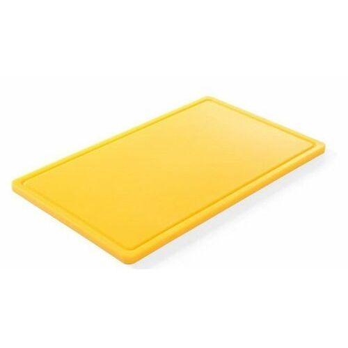 Hendi OUTLET - Deska do krojenia HACCP | GN 1/1 | kolor czerwony - kod Product ID
