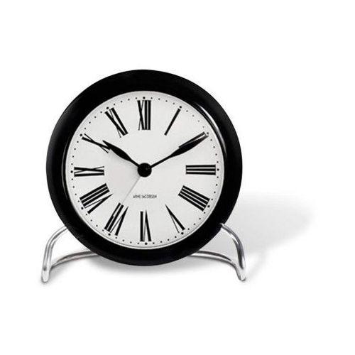 Budzik Roman biały/czarny - Arne Jacobsen (5709513436713)
