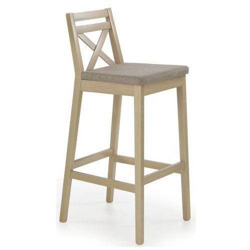 Elior.pl Wysokie krzesło drewniane lidan 2x - dąb sonoma