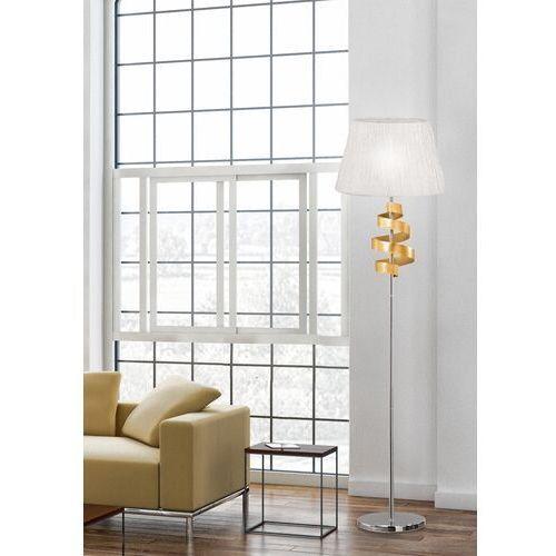 Lampa podłogowa Candellux Denis 1x60W E27 chrom/złoty 51-23506