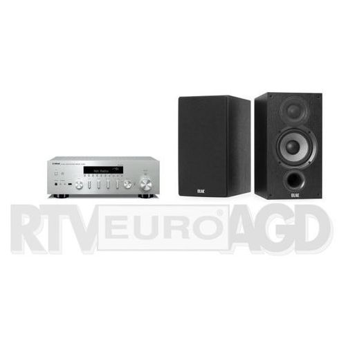 Yamaha musiccast r-n602 (srebrny), elac debut 2.0 b6.2 (czarny) (0000001171827)