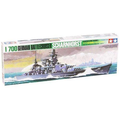 Tamiya Model plastikowy niemiecki krążownik scharnhorst (4950344999613)