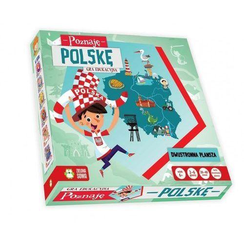 Zielona sowa Poznaję polskę. gra (5901761115482)