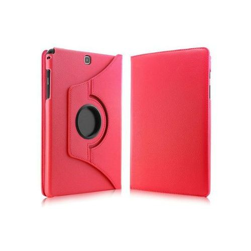 Czerwone etui skórzane PU Stand Cover Galaxy Tab A 9.7 T550 - Czerwony, kolor Czerwone