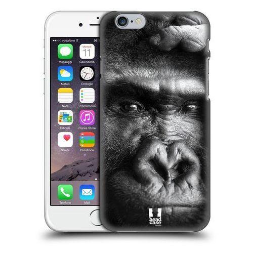 Etui plastikowe na telefon - wildlife black and white gorilla wyprodukowany przez Head case