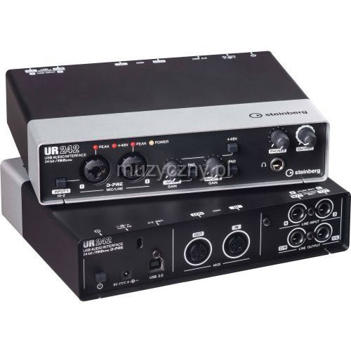 ur 242 interface audio usb 2.0 marki Steinberg