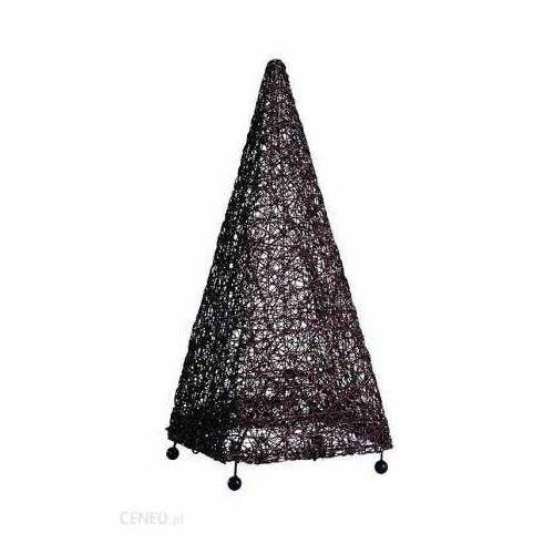 abaka piramida 12605 lampa stojąca podłogowa 1x60w e27 brązowy marki Alfa