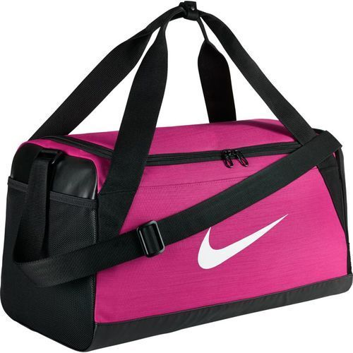 Torba Nike Brasilia Duffel Small - BA5335-616 - Vivid Pink/Black/White