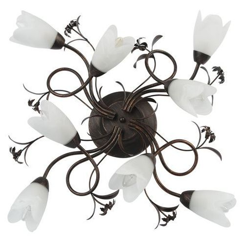 Mw-light Oświetlenie w secesyjnym stylu z bogatymi florystycznymi zdobieniami (323013708)
