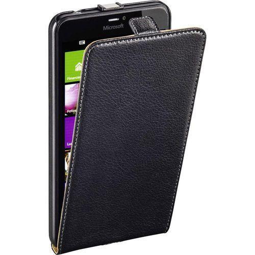 Pokrowiec na telefon Hama Smart Case 177513, Pasuje do modelu telefonu: Microsoft Lumia 640 XL, czarny, kolor czarny