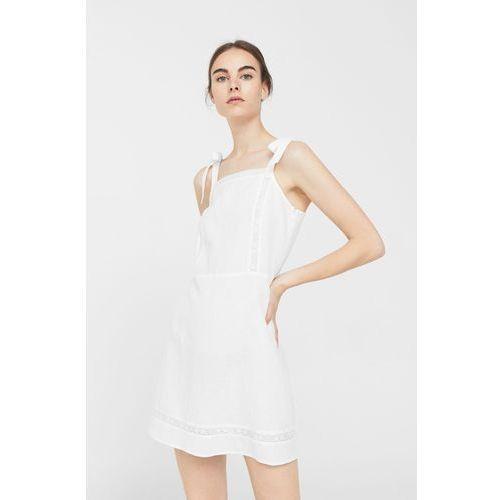 Mango - Sukienka Blanco
