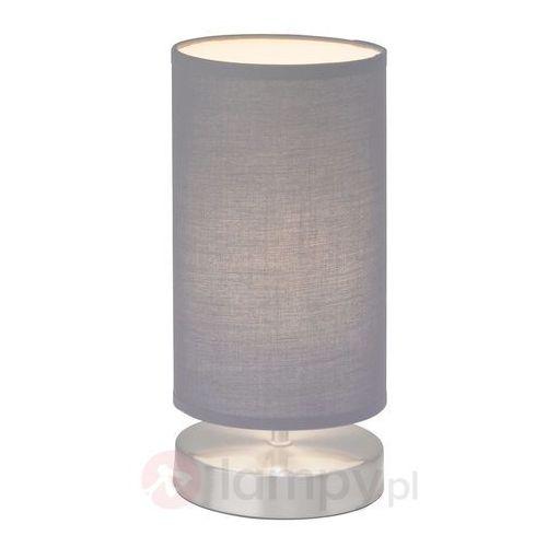 Lampka nocna Brilliant 13247/22, 1x40 W, E14, Szary, (ØxW) 12 cmx25.5 cm, 230 V (4004353175213)
