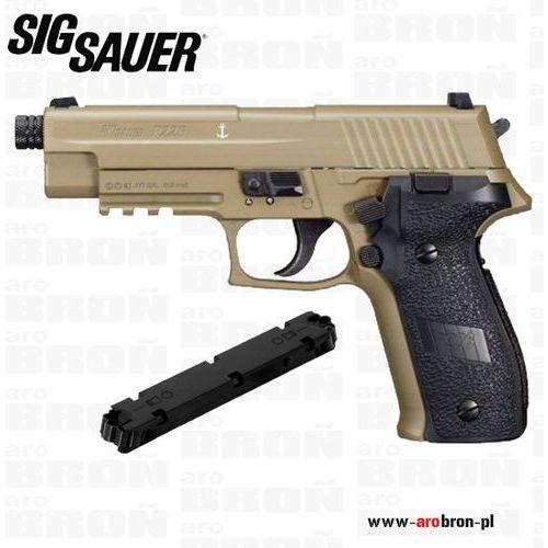 Pistolet wiatrówka SIGSAUER P226 4,5 mm USA FULL METAL - FDE - AIR-226F-177-12G-16-FDE - sprawdź w wybranym sklepie