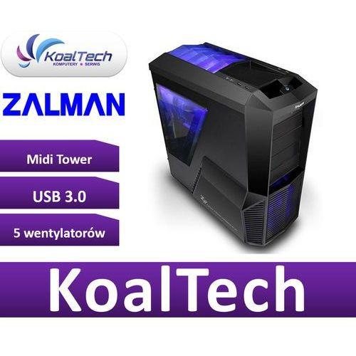 Zalman Z11 Plus - USB 3.0 - czarna z oknem - bez zasilacza, Z11PLUS