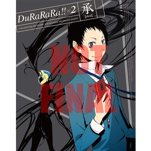 Durarara!! x2 shou - collector's edition, marki Anime ltd