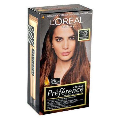 L'oréal paris Loreal recital preference farba do włosów m2 5.25 (3600010013396)