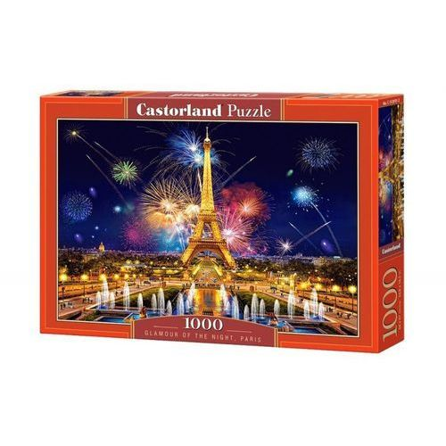 Castorland Puzzle 1000 glamour of the night paris - castor