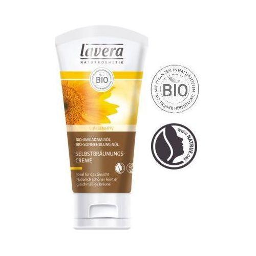 Samoopalacz do twarzy olejek z bio-makadamia bio-słonecznika 50ml  marki Lavera