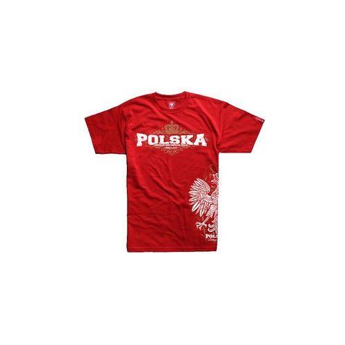 """Ultrapatriot / polska Koszulka ultrapatriot """"wspólne idee"""" czerwona (km.ulp.c40)"""