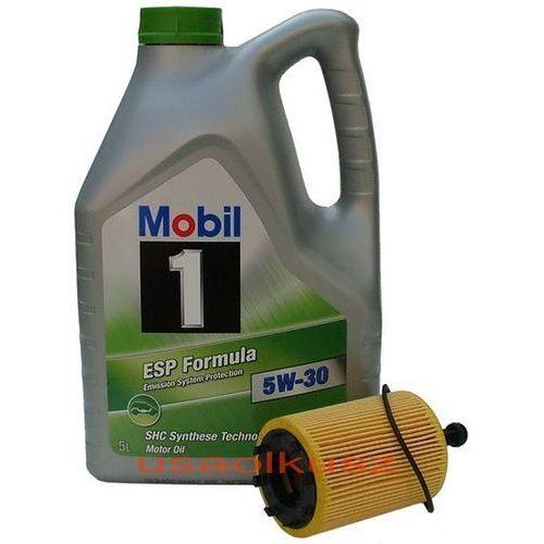 Filtr + olej 1 esp formula 5w30 jeep compass 2,0td marki Mobil