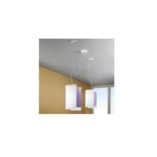 Lampa wisząca triad 1200 liliowa żarówki led gratis!, 90227 marki Linea light