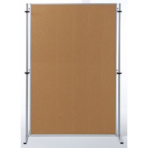 Ścianka funkcyjna, wys. x szer. 1800x1200 mm, korek naturalny, opak. 1 szt. zawi marki Carto