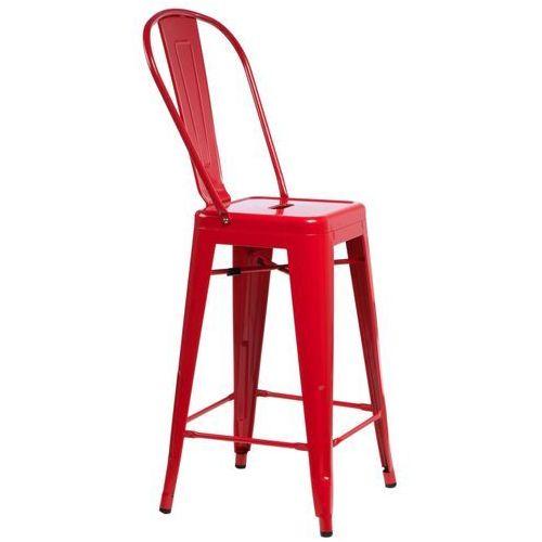 D2 6379 stołek barowy parisback czerwony