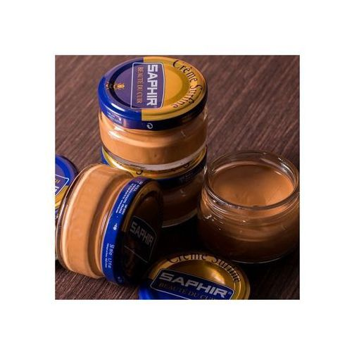 Saphir bdc Saphir 39 - naturalna skóra / natural leather krem do obuwia butów 50ml