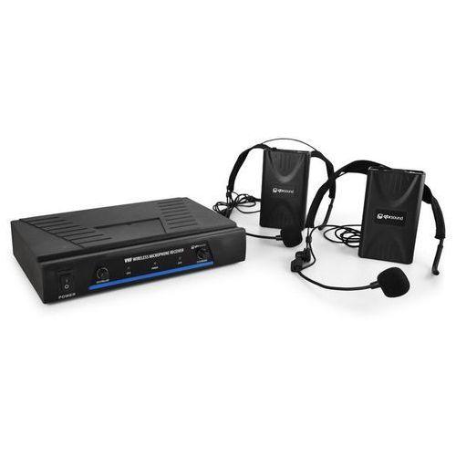 Qtx 171.818 mikrofony bezprzewod. vhf 2 kanały 2 x headset (5015972089699)