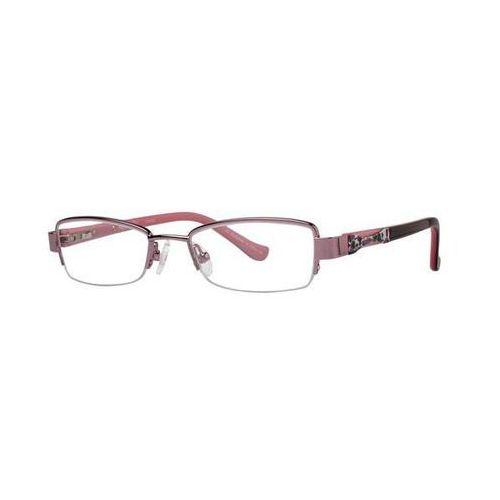 Okulary korekcyjne charm kids pink marki Kensie