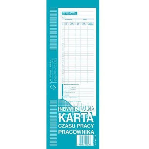 Indywidualna karta czasu pracownika (offset) a4 - g1266 marki Michalczyk i prokop