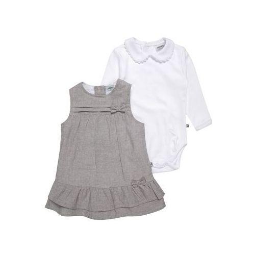 Jacky Baby CLASSIC SET Body grau/weiß