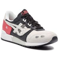 Sneakersy - tiger gel-lyte 1191a023 rouge/glacier grey 701 marki Asics