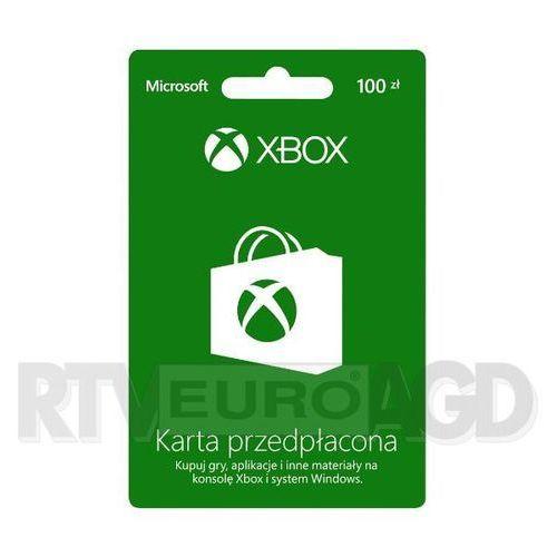 Doładowanie Xbox Live 100 PLN - produkt w magazynie - szybka wysyłka!