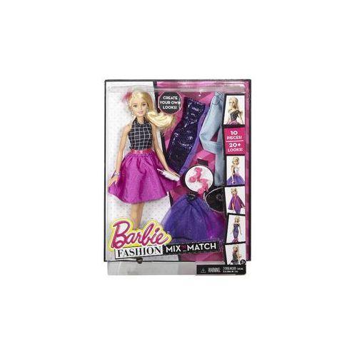 Barbie Lalka  modowe przebieranki (blondynka)