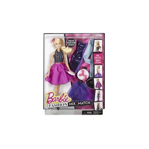 Lalka  modowe przebieranki (blondynka) marki Barbie