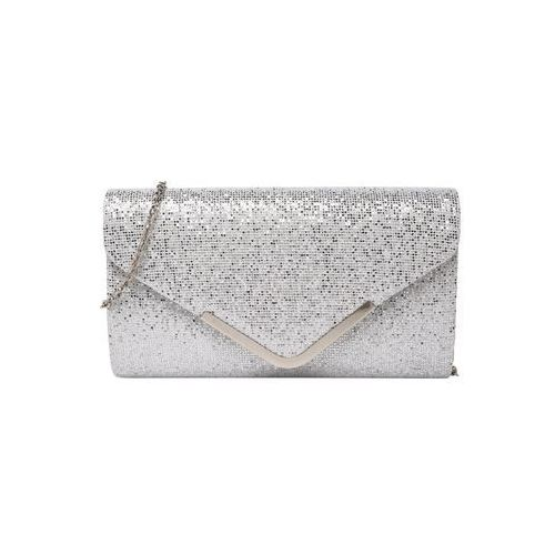 torba na ramię 'letter fold' srebrny marki Mascara