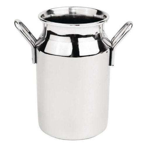 Średnia bańka na mleko ze stali nierdzewnej | 120ml marki Olympia