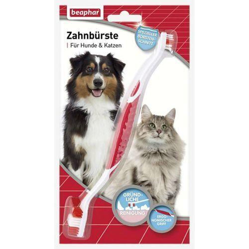 Beaphar Szczoteczka do zębów dla psów wszystkich ras - dwugłowicowa