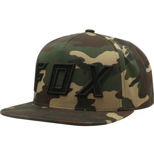 FOX czapka z daszkiem Posessed khaki, kolor zielony